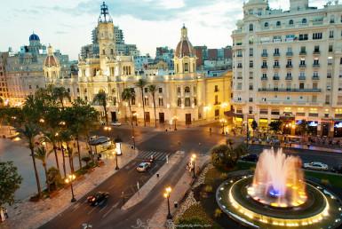 Vista de la Plaza del Ayuntamiento - Lema Asesores